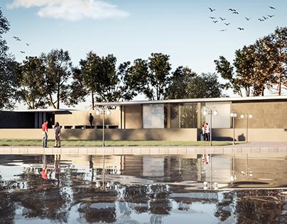 Barcelona Pavilion design by: Ludwig mies van de Rohe