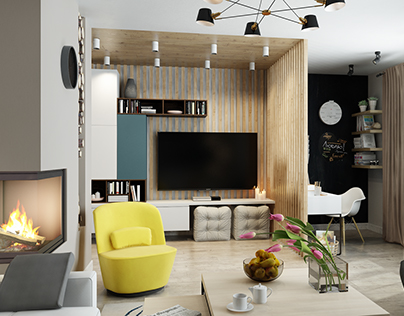 Contemporary Cozy Appartment