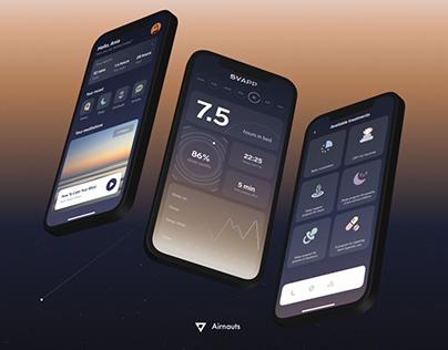 Svapp - the holistic sleep application