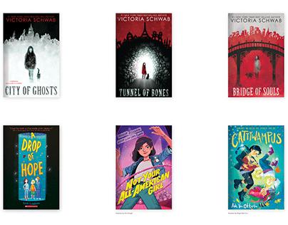 Book Cover Designs 2016-2020