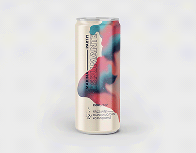 Packaging Design - Can Can Wine