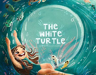 Book Cover l The White Turtle