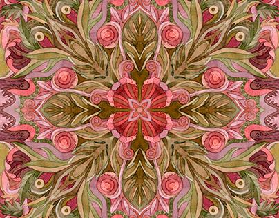 Krakow in Patterns. Textile Design.