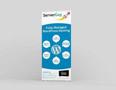 Standee Design   ServerGuy