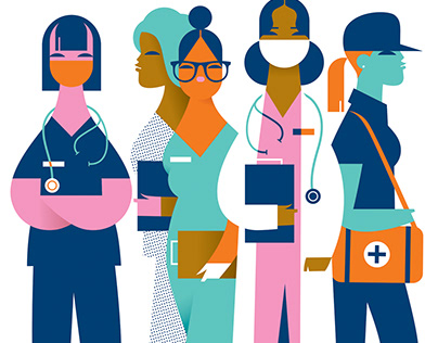 Female HealthCare Workers