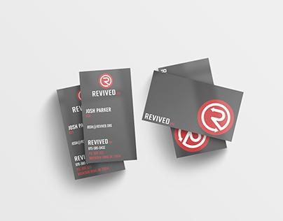 Revived.org - Business Card Mockup