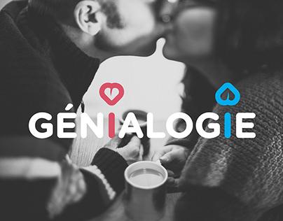 Logo + app Génialogie