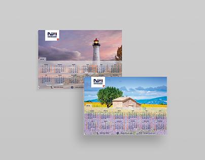 Mousepad Calendars