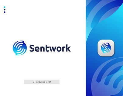S Network Modern Logo Design for Sale