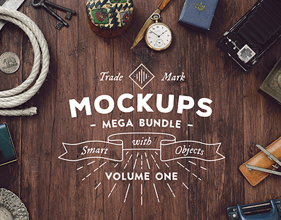 Mockups Mega Bundle - vol.1
