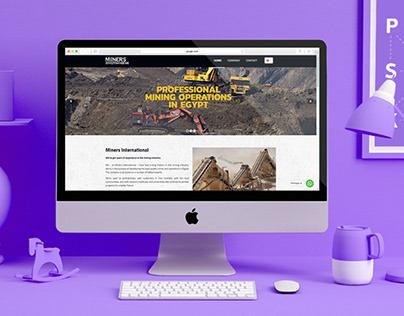 Website Design - Miners International