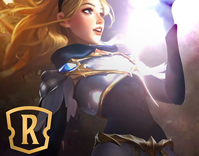 Legends of Runeterra - 2.5D Lux Animated Card