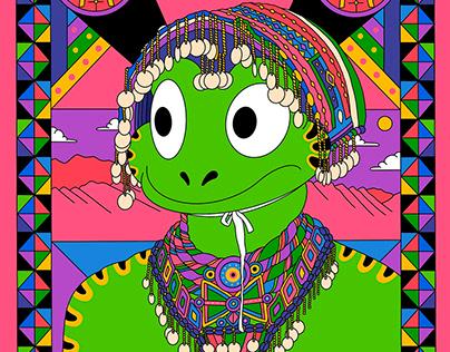 蛙人《多彩世界》