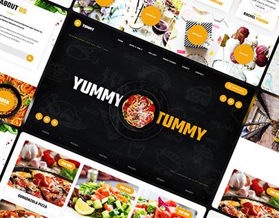 Yummy - Restaurant Website Template
