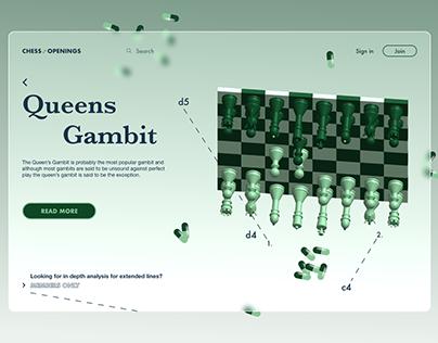 Queen's Gambit - a different perspective