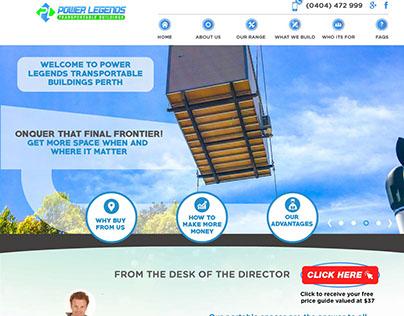 Australian project. Transportable buildings