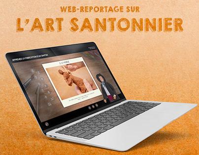 SITE WEB • L'art santonnier