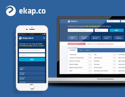 Ekap.co UI/UX Design