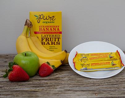 Pure Organic Strawberry Banana - Product Photoshoot