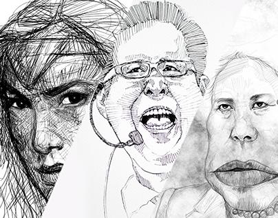 Caricature Faces Part 1