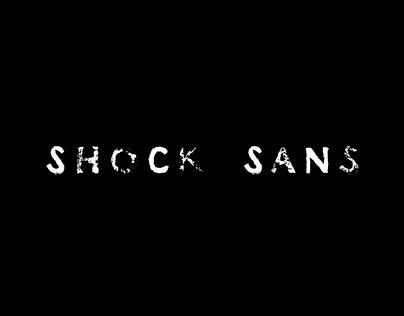 Shocking channel font