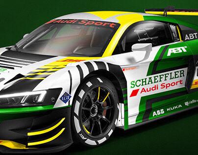 Audi R8 LMS GT3 livery concept