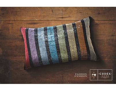 Codex - A Fashion Cushion That Tells More About You