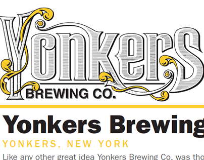 Yonkers Brewing Sell Sheet