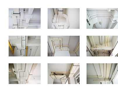 Ceiling's Intersections — Serial Phoography