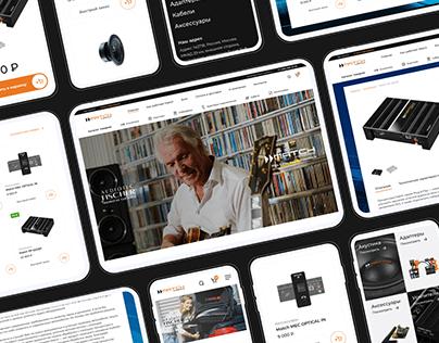 Match Audio | UX/UI Design