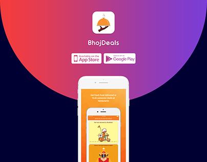 Restaurant Deals & Delivery App - Bhojdeals