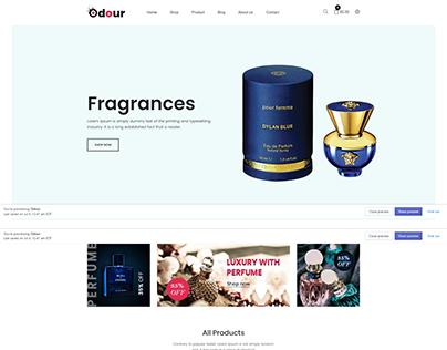 Odour - Perfume Store Shopify Theme