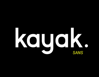 Kayak Sans – Free Typeface Download