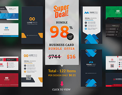 Free Selling & Downloaded Business Card
