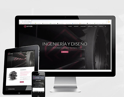 Web Design - Ennde3D