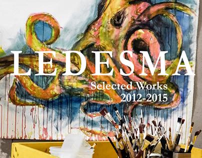 Ledesma. Selected Works. 2012-2015