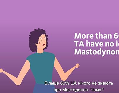 Mastodynon marketing case