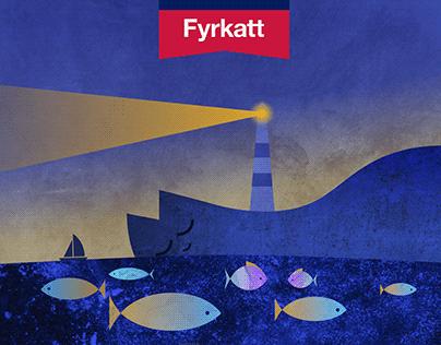 Fyrkatt — Packaging and Identity