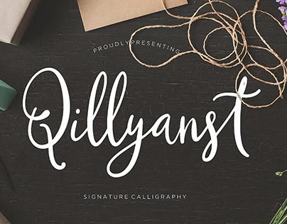 Qillyanst Calligraphy Font