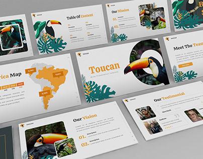 Toucan – Tropical Presentation Template