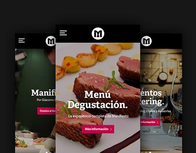 Manifiesto ®  - Responsive Web Design