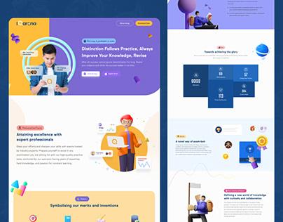 IQarena_Website Design