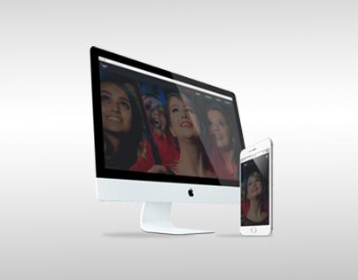 Web Site • Arca Vídeo Produções