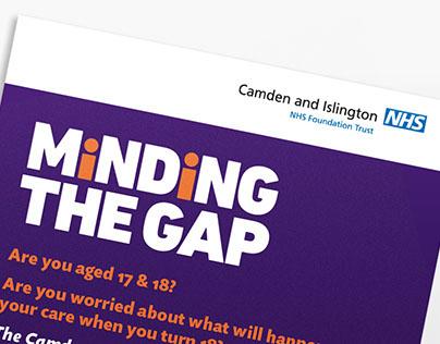 Minding the Gap graphic identity