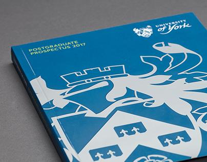 University of York Postgraduate Prospectus