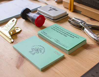 Branding A Creative Lab | Of Labour & Love