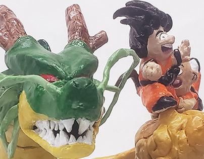 Dragon Ball Sculpture