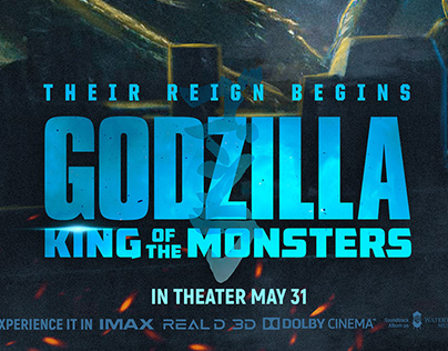 GODZILLA: King of the monsters | Poster Design