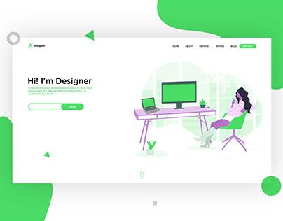 Designer Landing Page