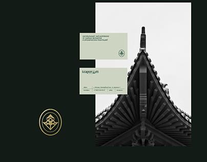 TEAPORIUM / Corporate identity